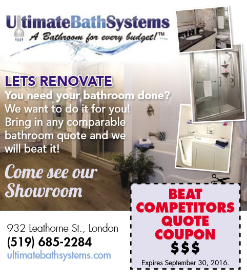 Ultimate Bath Systems September Promo